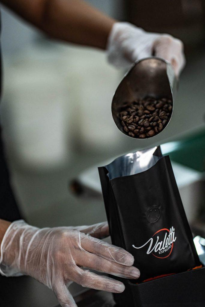 Envasado de café
